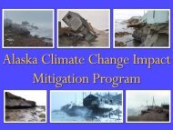 Alaska Climate Change Impact Mitigation Program