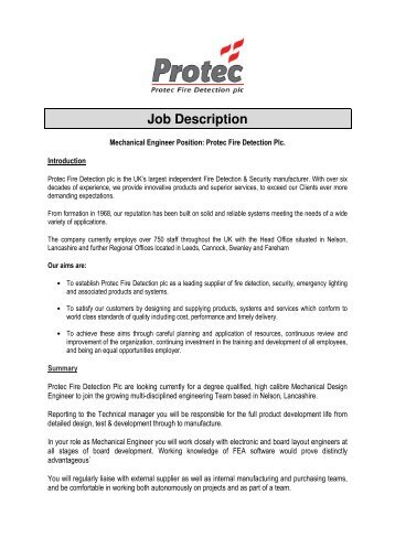 Job Description & Person Specification - St John Ambulance