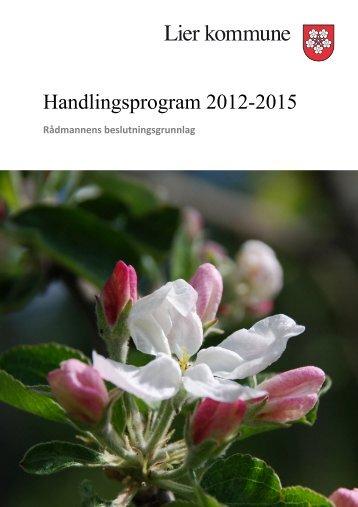 Handlingsprogrammet 2012 2015 - Lier kommune