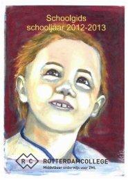Schoolgids 2012-2013 Rotterdamcollege - St. Mattheusschool