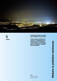 Réduire la pollution lumineuse