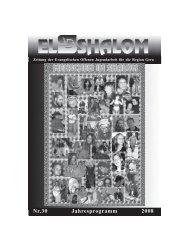 Nr.30 Jahresprogramm 2008 - Evangelisches Jugendhaus Shalom ...