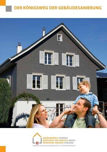 Broschüre Der Königsweg der Gebäudesanierung - Weber Dach AG