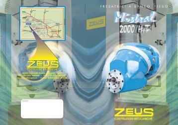 Scarica il catalogo - Zeus Costruzioni Meccaniche