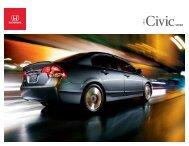 2011 sedan - Honda Canada