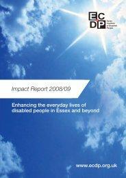 Impact Report 2008/09 - Raincharm