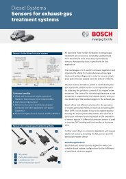Datasheet Sensors for exhaust-gas treatment systems (PDF 611.12 ...