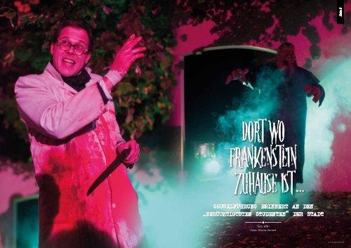 """WIR Mystery: """"Dort wo Frankenstein zuhause ist"""" - Dr. Frankensteins ..."""