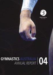 2004 Annual Report - Gymnastics Australia