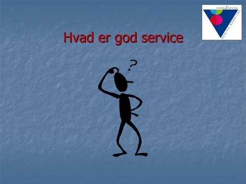 Hvad er god service - Herlev Hospital