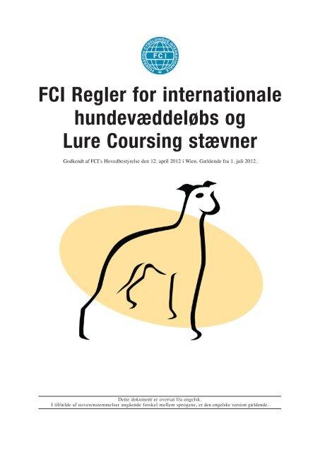 Læs FCI regler på dansk her - Myndeklubben