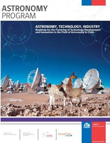 ASTRONOMY PROGRAM - Conicyt