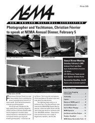 Winter 2005 - New England Multihull Association