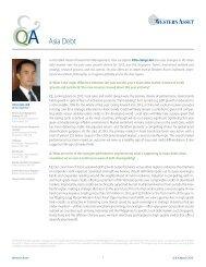 Asia Debt - Western Asset
