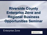 The Audit - Coachella Valley Enterprise Zone