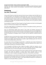 Einleitung (von Alize Timmerman) - Verlag Homöopathie + Symbol
