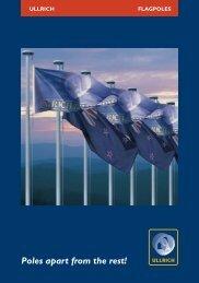 Flagpoles - Ullrich Aluminium