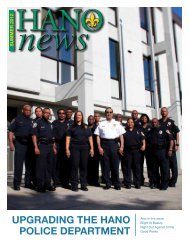 upgrading the hano police department - Housing Authority of New ...