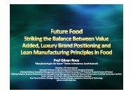 Prof Göran Roos - Food South Australia