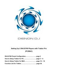 Setting Up 2 DN-S3700 Players with Traktor Pro (PC/MAC)