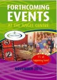 NOVEMBER 2012 - Angel Centre