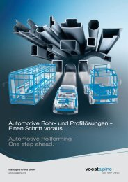 Broschüre Fahrzeugtechnik (772 KB) - voestalpine