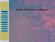 Kinds of Volcanic Landforms - Glyfac.buffalo.edu