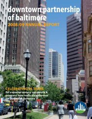 2009 Annual Report - Downtown Baltimore