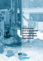 Historische und technische Untersuchung von belasteten Standorten