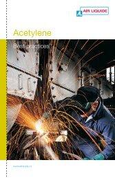 Acetylene best practices - BLUESHIELD