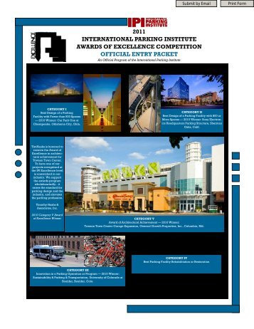 2011 Electronic AOE Packet - International Parking Institute
