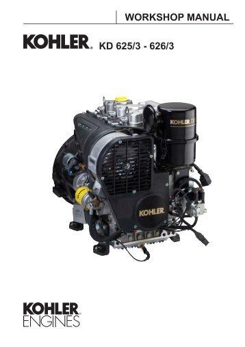 Kohler 1750 Mbm25 service manual