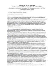 Hotarâre nr. 246 din 16/02/2006 Publicat in Monitorul ... - Aquademica