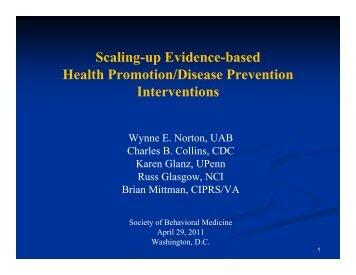 Overview - Society of Behavioral Medicine