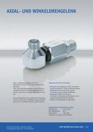 Axial- / Winkel- Drehgelenk - Ernst Wagener Hydraulikteile GmbH