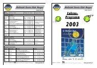 Jahres- Programm 2003 - RTCA