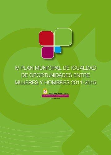 IV Plan de Igualdad - Ayuntamiento de León