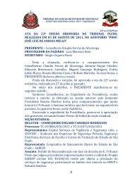 1 ata da 23ª sessão ordinária do tribunal pleno, realizada em 03 de ...