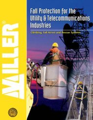 Miller Fall Protection for Utility & Telecommunications - Trench Safety
