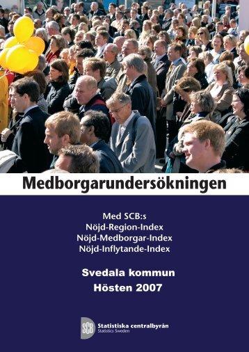 Medborgarundersökningen (pdf) - Statistiska centralbyrån