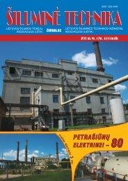 Šilumine technika (45).pdf - Lietuvos šilumos tiekėjų asociacija (LŠTA)