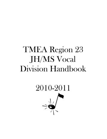 "TMEA Region 23 - UIL ""ONLINE ENTRY"""