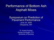Performance of Bottom Ash Asphalt Mixes - Petersen Asphalt ...