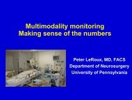Making Sense of the Numbers Peter LeRoux, MD, FACS