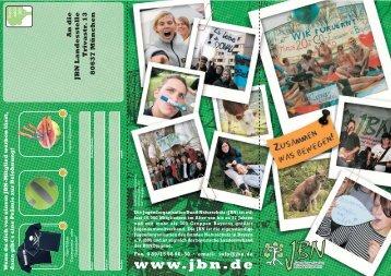 Flyer_Mitglieder 10_06.FH11 - Jugendorganisation Bund Naturschutz