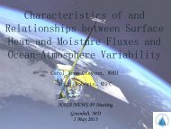 Clayson_ELH working group overview - NEWS (The NASA Energy ...