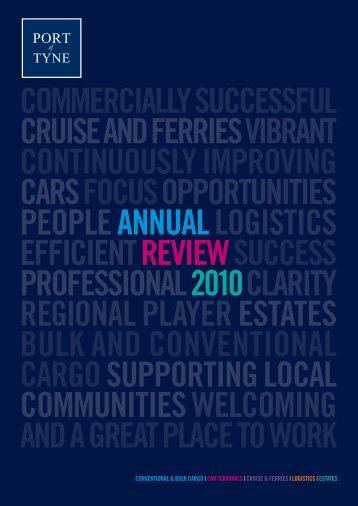 Port of Tyne Annual Review 2010