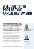 Port of Tyne Annual Review 2010 - Page 3