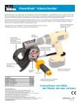 PowerBlade Cable Cutter - German - Ideal Industries - Seite 2