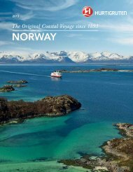 Download Brochure PDF - Hurtigruten
